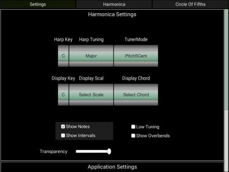 HarpNinja Diatonic Harmonica - ipad2